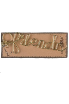 Shoptiques Product: Friends Wire Keychain