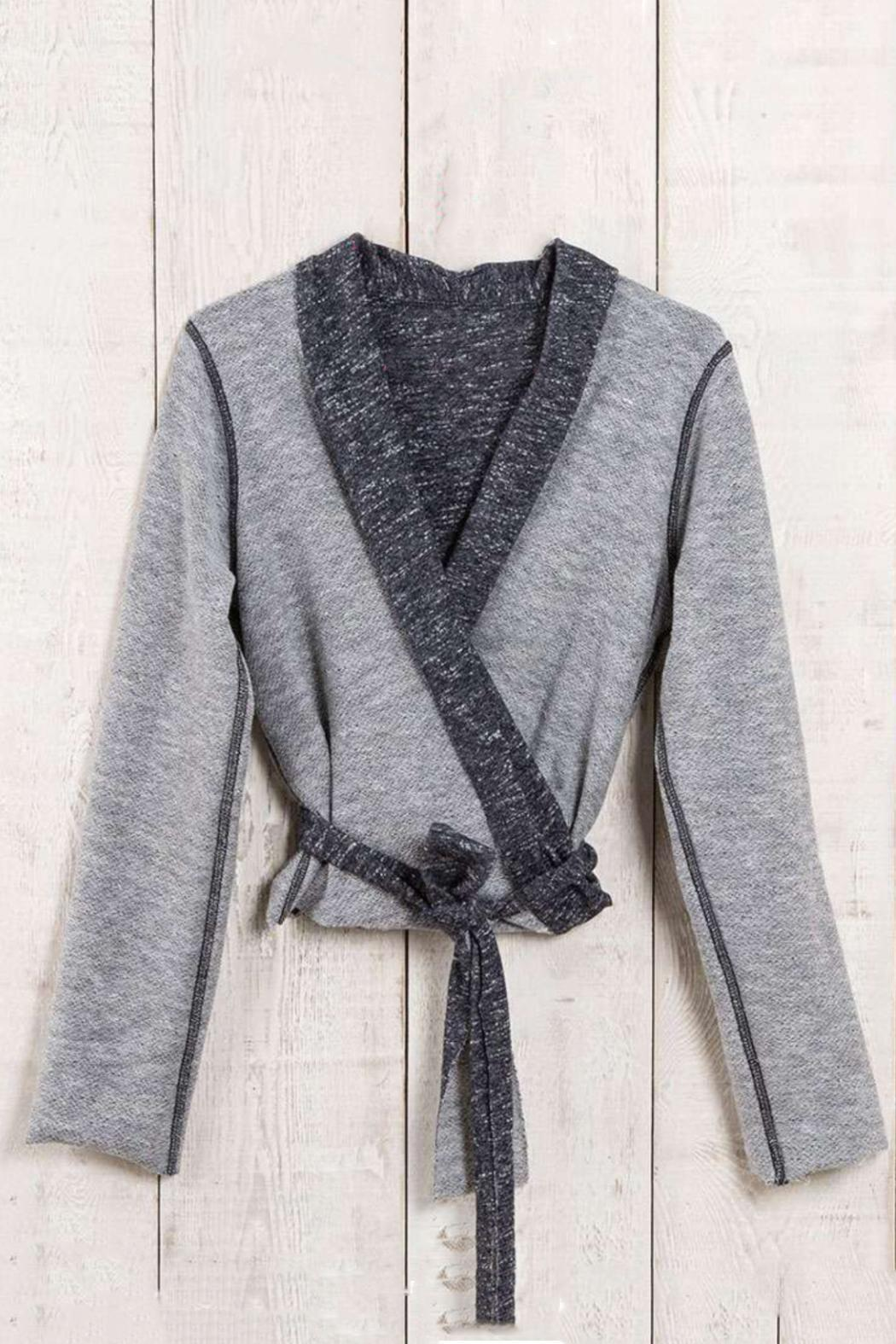 Natural Life Grey Wrap Cardigan from Dover by Pear Tree Gifts ...