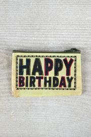 Natural Life Happy Birthday Pouch - Product Mini Image