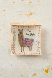 Natural Life Llama Trinket Dish - Product Mini Image