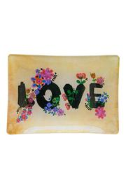 Natural Life Love Glass Tray - Product Mini Image