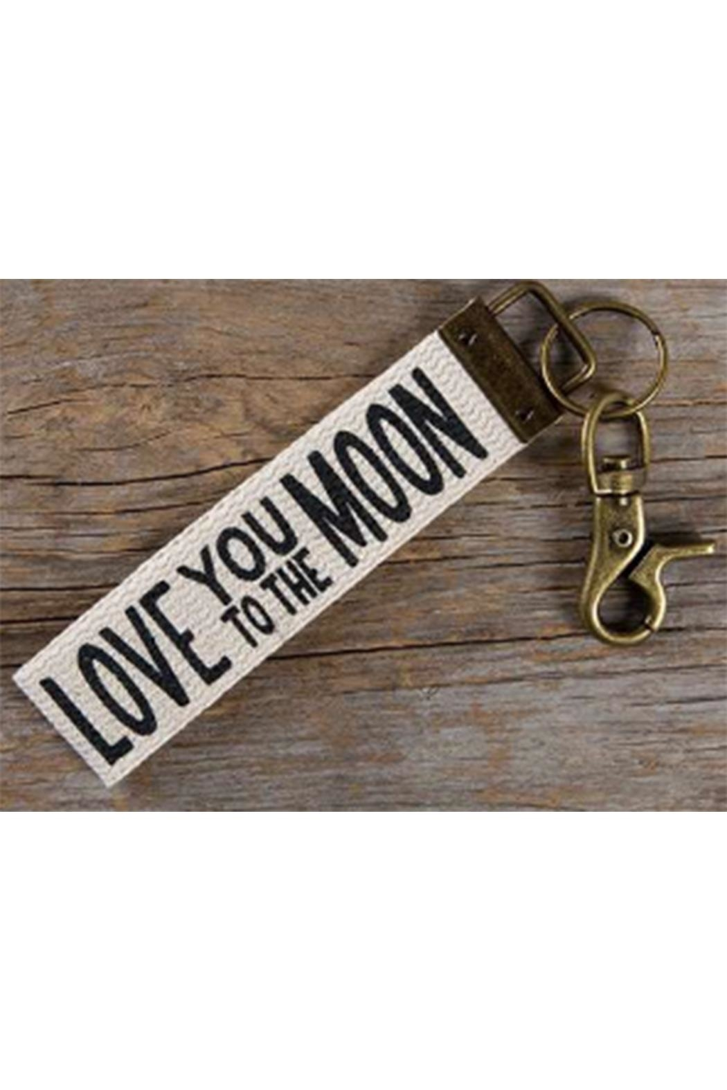 Natural Life Love-You Key Chain - Front Cropped Image