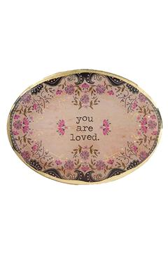 Shoptiques Product: Loved Glass Tray