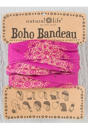 Natural Life Magenta Boho Bandeau - Product Mini Image
