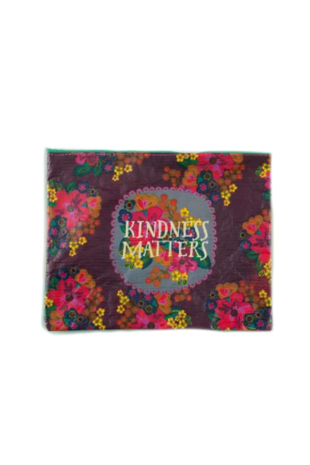 Natural Life Recycled Kindness Pouch - Front Cropped Image