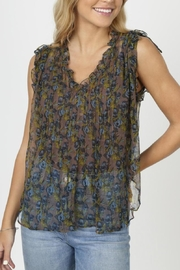 Natural Life Sleeveless Chiffon Top - Product Mini Image