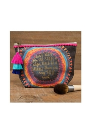 Natural Life Stars Canvas Pouch - Product Mini Image