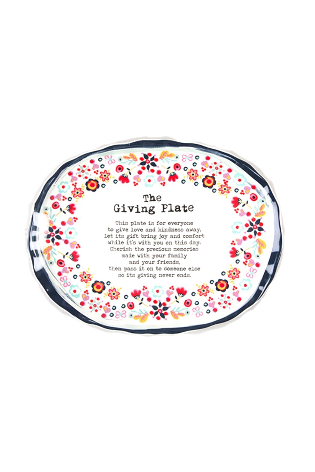 Natural Life The Giving Plate - Main Image
