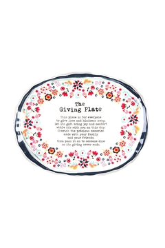 Shoptiques Product: The Giving Plate