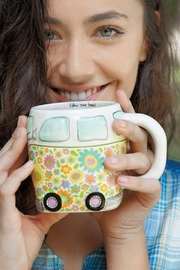 Natural Life Van Camper Mug - Product Mini Image