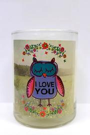 Natural Life Votive Candle Owl - Product Mini Image