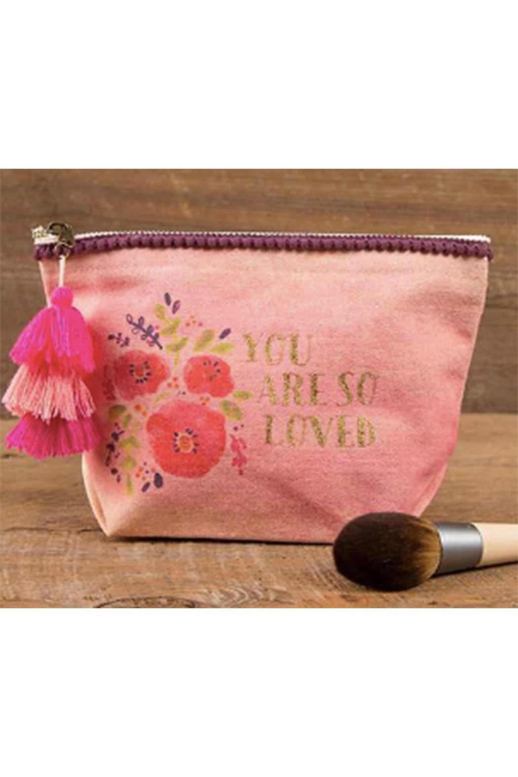 Natural Life You-Are-Loved Canvas Pouch - Main Image