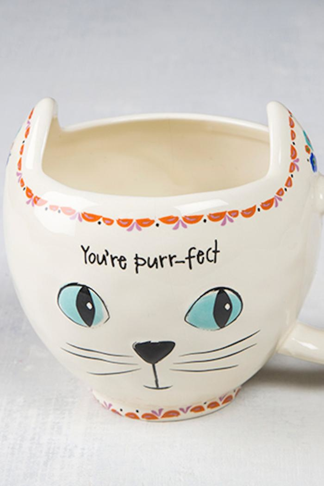 Natural Life You're Purr-Fect Cat-Mug - Front Cropped Image