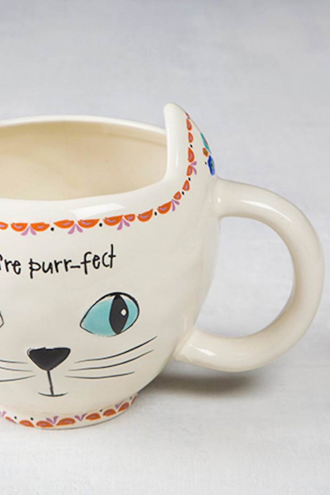 Natural Life You're Purr-Fect Cat-Mug - Front Full Image