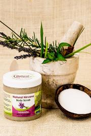 Natural Nirvana Lavender Body Scrub - Product Mini Image