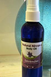 Natural Nirvana Lavender Large Bodyoil - Product Mini Image