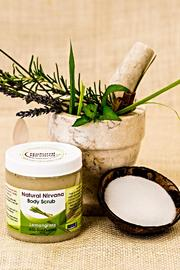 Natural Nirvana Lemongrass Body Scrub - Product Mini Image