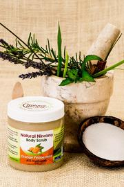 Natural Nirvana Orange Peppermint Bodyscrub - Product Mini Image