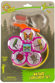 Toysmith Nature Explorer Set - Nature Viewing Containers - Product Mini Image