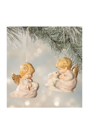 The Birds Nest NATURE'S ANGEL ORNAMENT - Front cropped