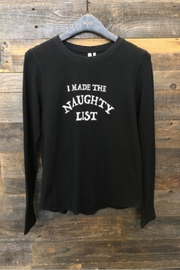 Comune Naughty List L/S Thermal Top - Front cropped