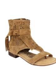 Naughty Monkey Gladiator Fringe Sandal - Product Mini Image