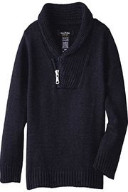Nautica Zip Shawl Sweater - Front cropped
