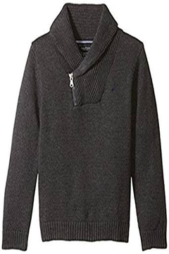 Nautica Zip Shawl Sweater - Alternate List Image