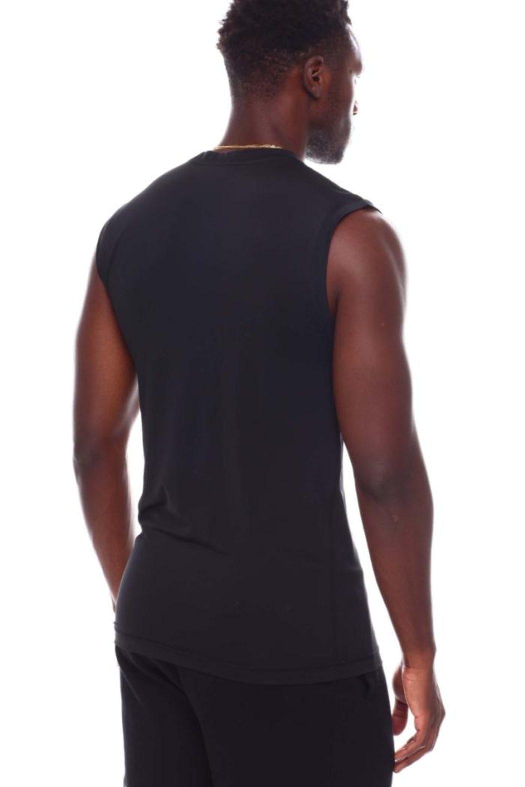 Nautica Men's Base Layer Muscle Tops - Back Cropped Image