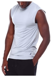 Nautica Men's Base Layer Muscle Tops - Front full body