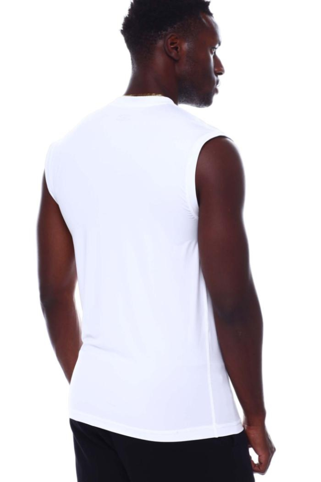 Nautica Men's Base Layer Muscle Tops - Side Cropped Image