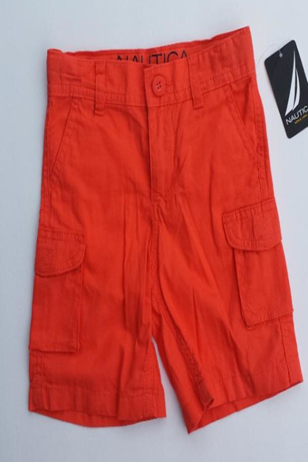 Nautica Toddler Cargo Shorts - Front Cropped Image