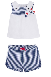 Mayoral Nautical 2pc Set - Front cropped