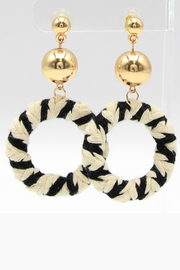 Embellish Nautical Ring Earrings - Product Mini Image