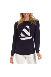 Duffield Lane Nautical Sailboat Sweater - Product Mini Image