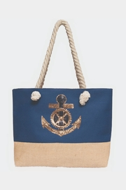 Embellish Nautical Sequin Bag - Front cropped