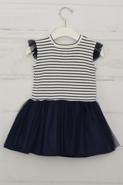 Granlei 1980 Nautical Stipes Dress - Front cropped