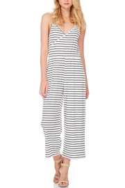 Anama Nautical Striped Jumpsuit - Front full body
