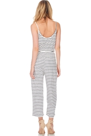 Anama Nautical Striped Jumpsuit - Side cropped