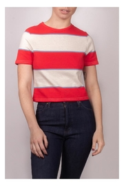 En Creme Nautical Striped Tee - Product Mini Image