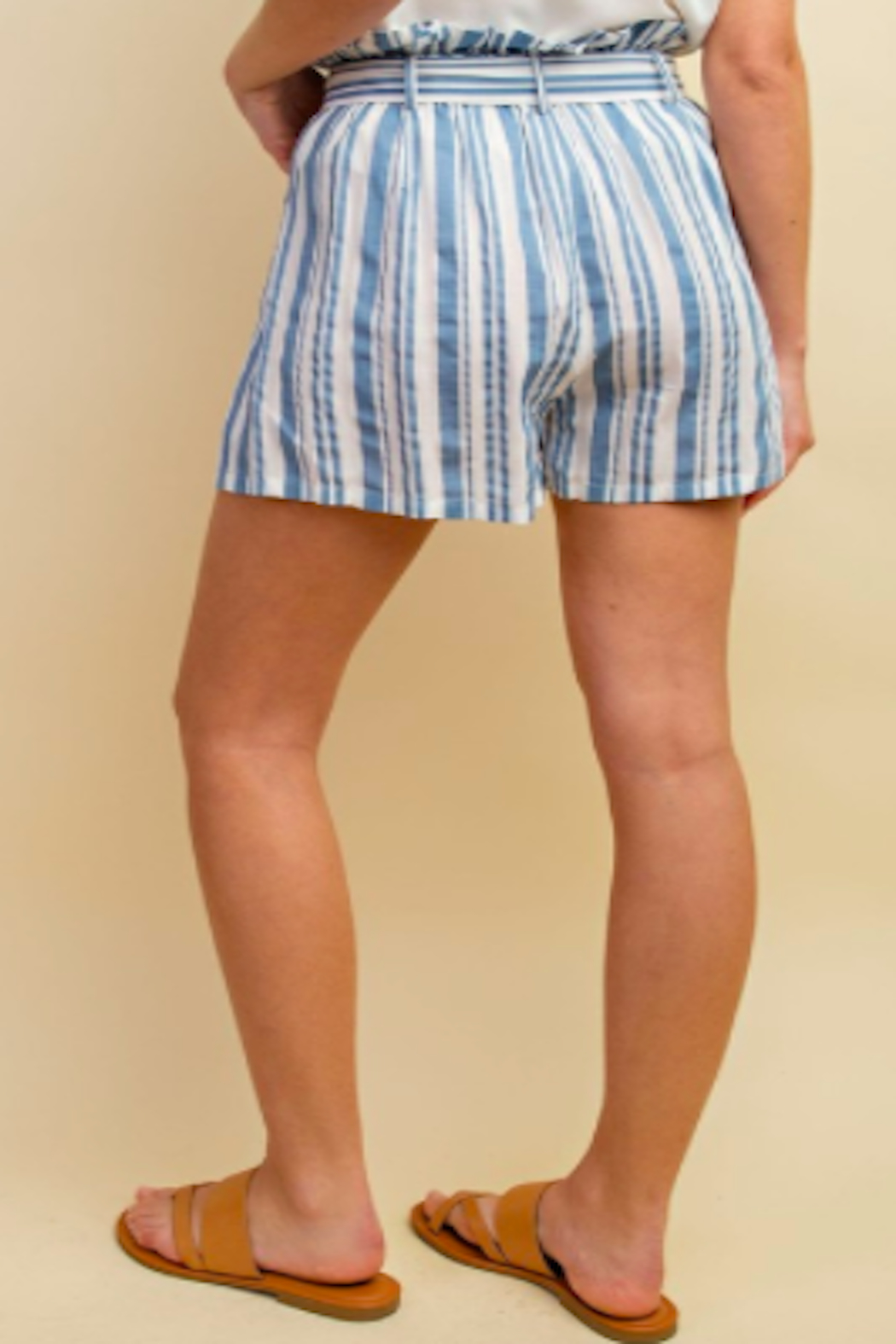 ee:some Nautical Tie Shorts - Front Full Image
