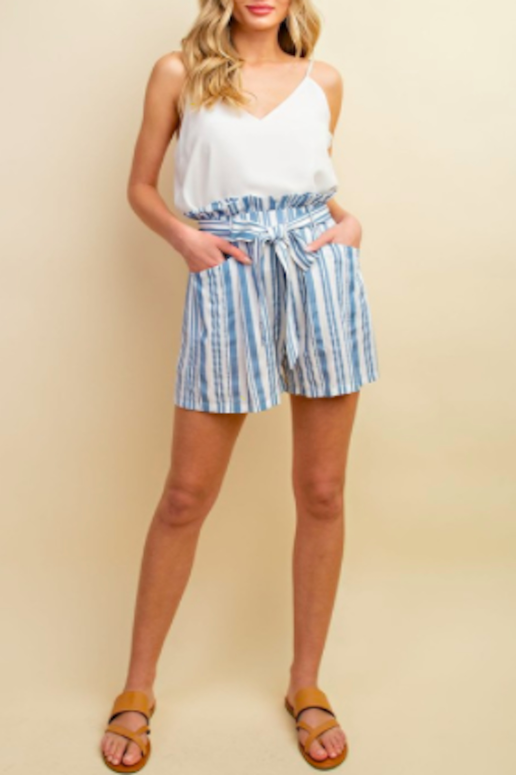 ee:some Nautical Tie Shorts - Main Image