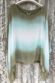 Scandal of Italy NAV - Dip Dye Flowy Top - Front cropped