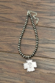 JChronicles Navajo-Pearl Cross Pendent-Necklace - Product Mini Image