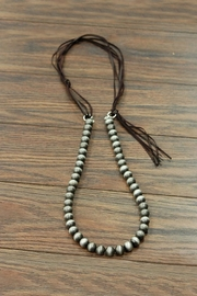 JChronicles Navajo Pearl Necklace - Front cropped