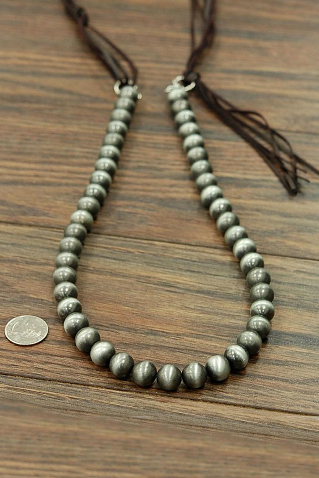 JChronicles Navajo Pearl Necklace - Front Full Image