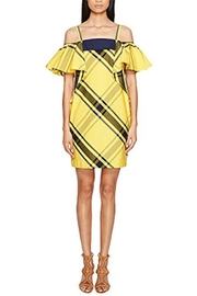 Sportmax Navata Yellow Dress - Front cropped
