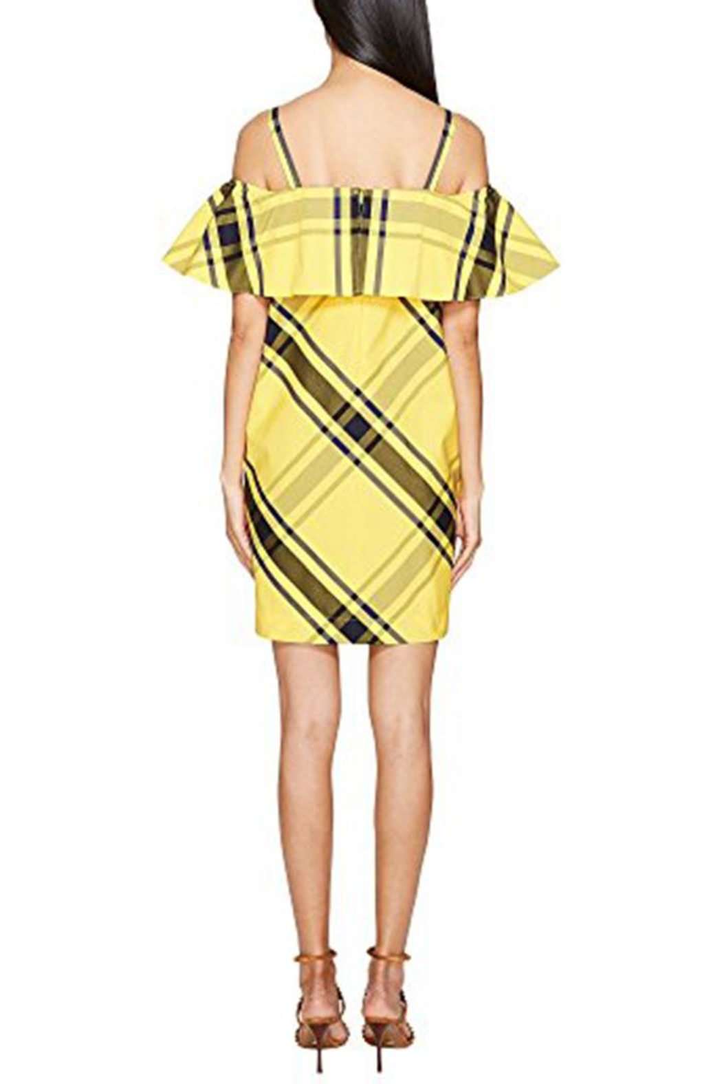 Sportmax Navata Yellow Dress - Front Full Image