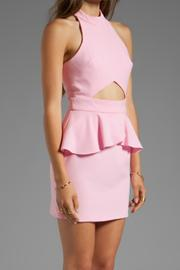 Naven Cut-Out Peplum Dress - Side cropped