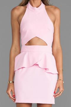 Naven Cut-Out Peplum Dress - Alternate List Image